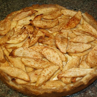 Bavarian Apple Torte