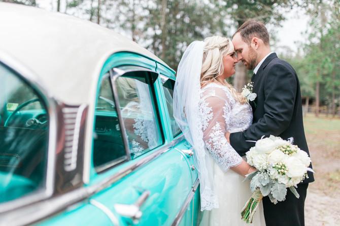 Travis + Savannah | Wedding | Backyard Wedding | Jacksonville, FL