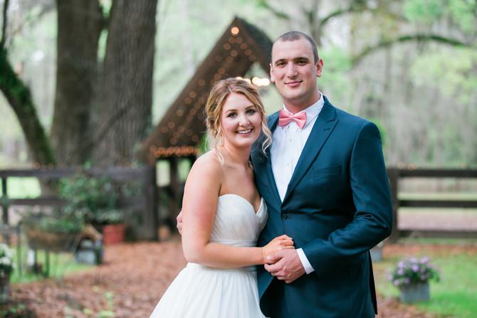 Cody & Lindsey| Wedding| Tuckers Farmhouse, Green Cove Springs, FL