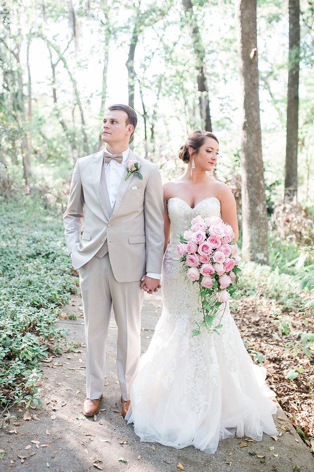 Allen Amp Michelle S Blush Inspired Wedding At The Hilltop