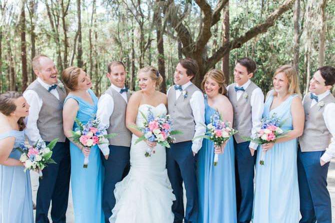 Nick + Sarah | Wedding | Fleming Island, FL | The Copper Lens Photography
