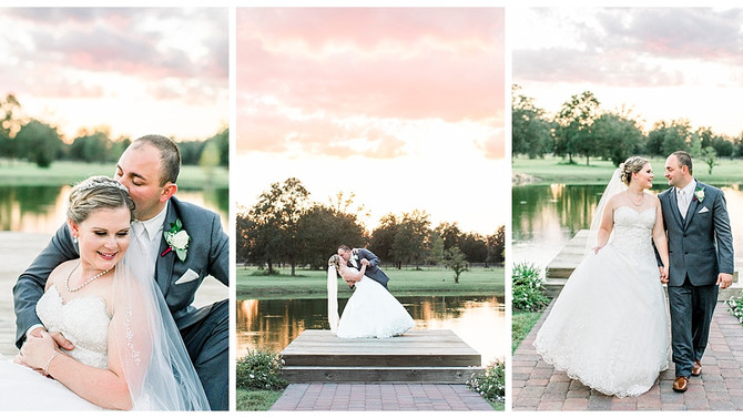 Romantic Wedding at C Bar Ranch in Gainesville, Florida