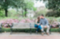 Forsyth Park Savannah, Georgia Engagement & Wedding Photographer
