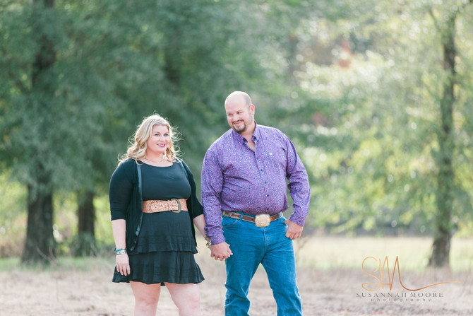 James & Ginger Engagement| Middleburg, FL