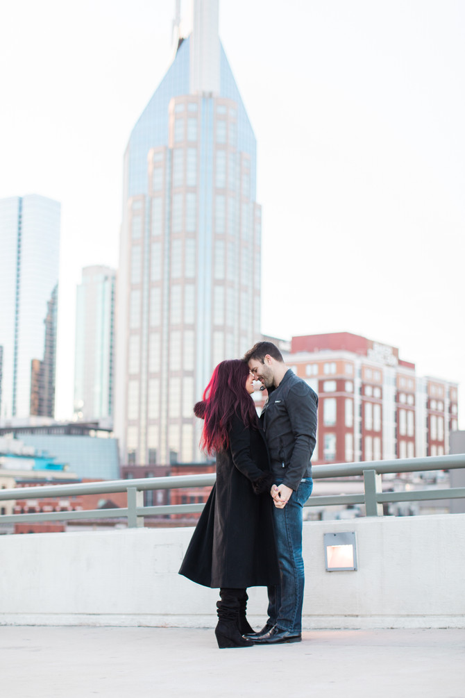 Romantic Couples Session in Music City, Nashville, TN