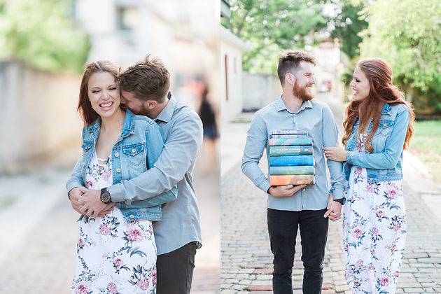 Harry Potter Themed Engagement Session Add A Little