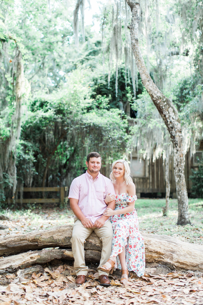 Alpine Groves Park Engagement Session | Chris + Taylor