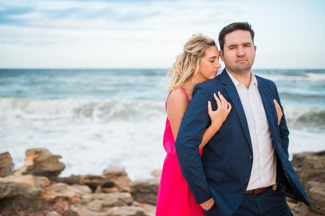 Ryan + Nicole | Engagement | Washington Oaks Gardens State Park, Fl | The Copper Lens Photography Co