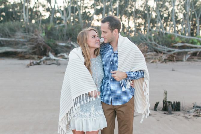 James + Jenn | Engagement | Little Talbot Island, Jacksonville Wedding Photographer
