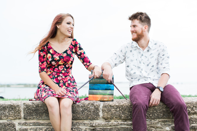 "Harry Potter Themed Engagement Session | Add a Little ""Magic"" to Your Wedding Day 