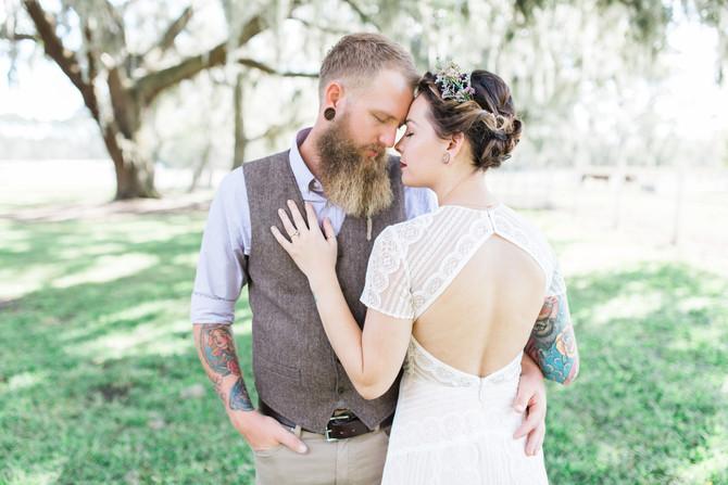 TJ & Lindsey | Country Rustic Wedding at Plantation Oaks Farms | Callahan, FL