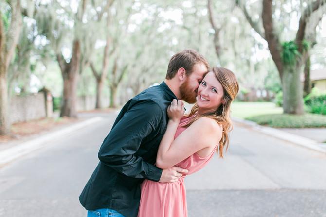 Allen + Michelle| Engagement| St. Augustine, FL