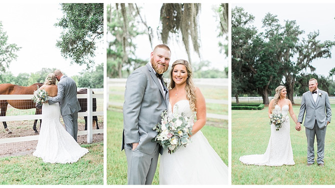 Romantic Summer Wedding at Plantation Oaks Farms in Callahan, FL | Steven & Amanda