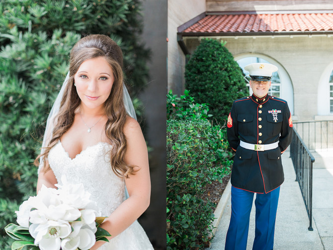 Alex & Sarah | Southern Chic 4th of July All-American Wedding | Nocatee, FL