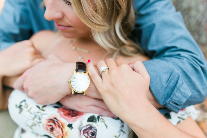 Alex & Bekah Engagement | Chandler Oaks Barn