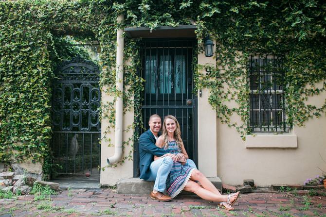 Jordan & Ashley| Engagement| Savannah, Ga