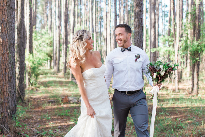 Wedding in the Woods| Fall Inspired Styled Shoot| Jacksonville, FL