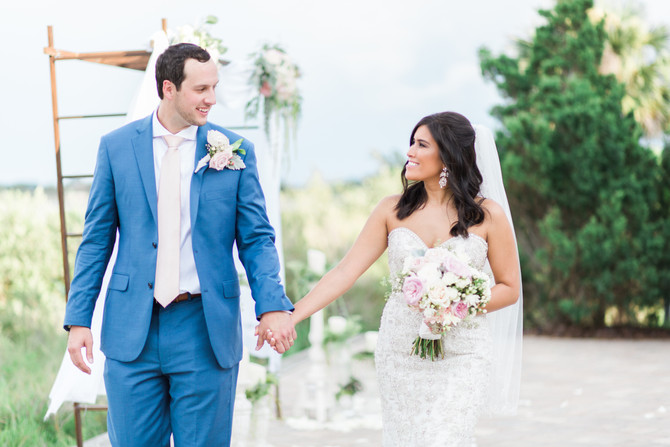 Christopher & Asia | Romantic Wedding at The River House | St. Augustine, Fl