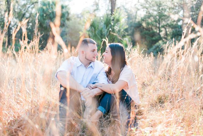 Kyle + Sarah | Engagement | Paynes Prairie | Gainesville, FL