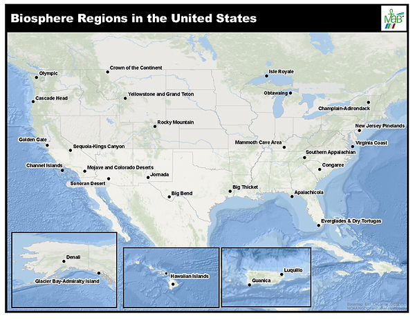 US Biosphere Regions Map 03312021.png