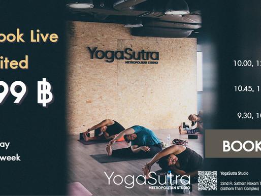 YogaSutraa Studio Online Class