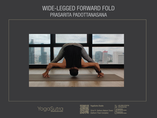How to Do Wide-legged Forward Fold