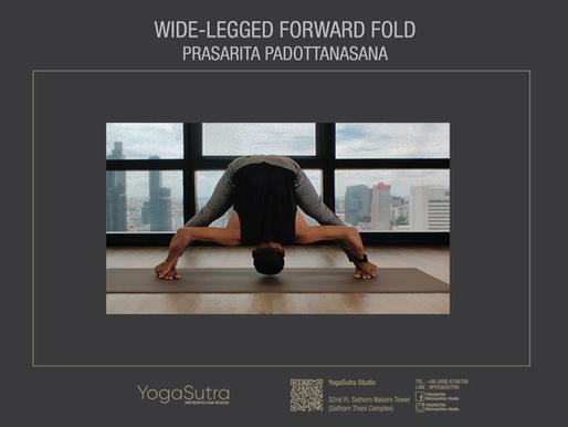 How to Do Wide-legged Forward Fold