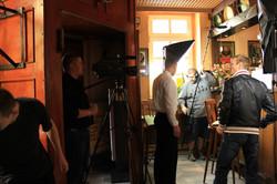 Filmdreh in Gaststätte