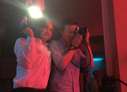 Fotograf und Videograf ergänzen sich