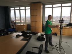Das NGFilms-Team bei der Arbeit
