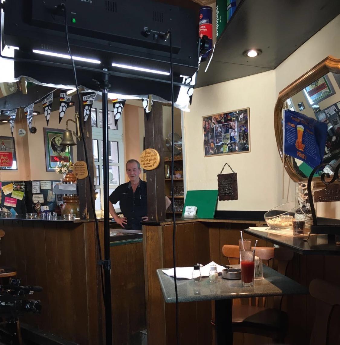 Dreh Imagevideo Bar