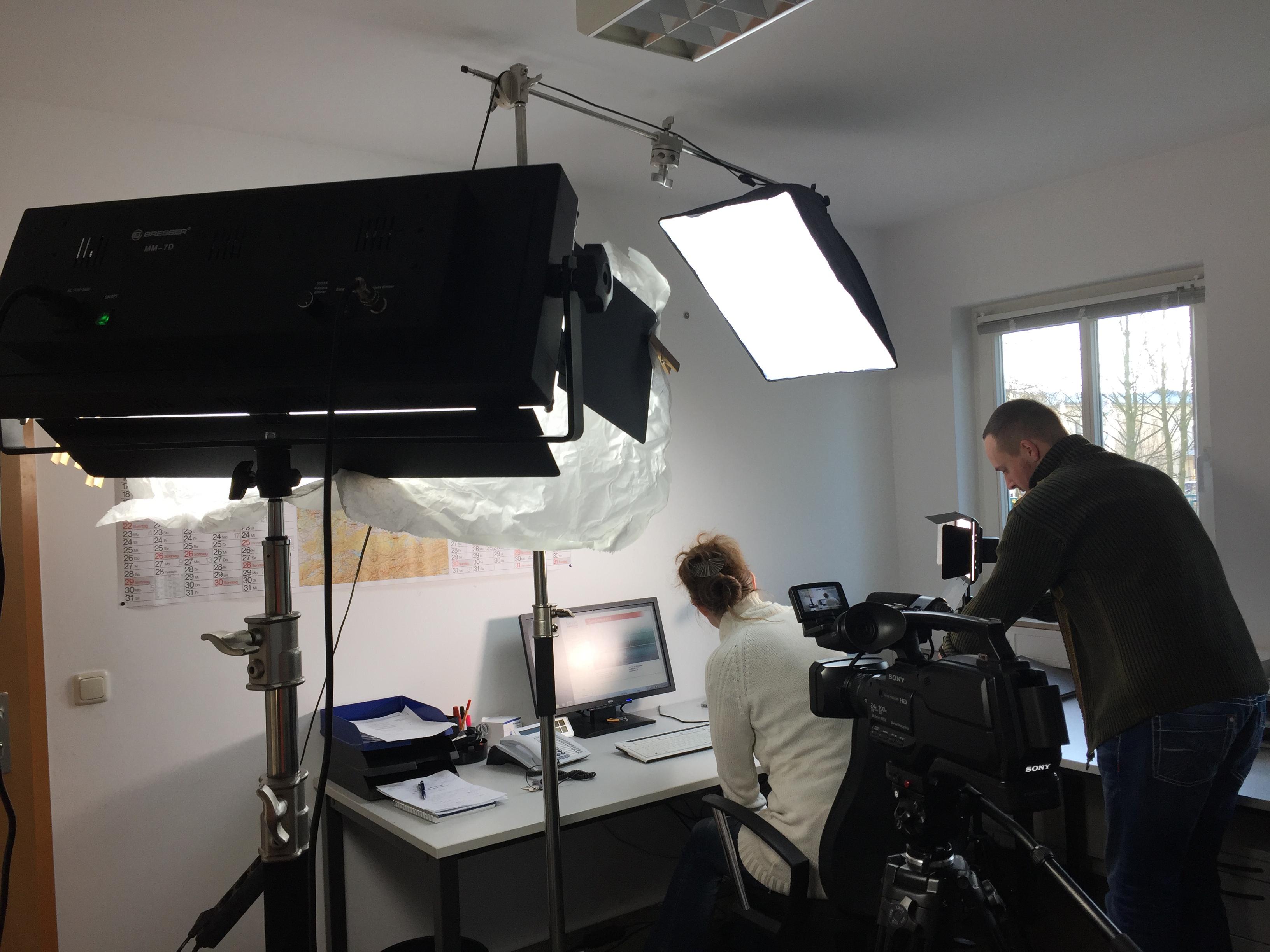 2. Büroszene für Wellner GmbH