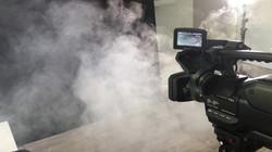 Dreh für SW Borna - Raucheffekt
