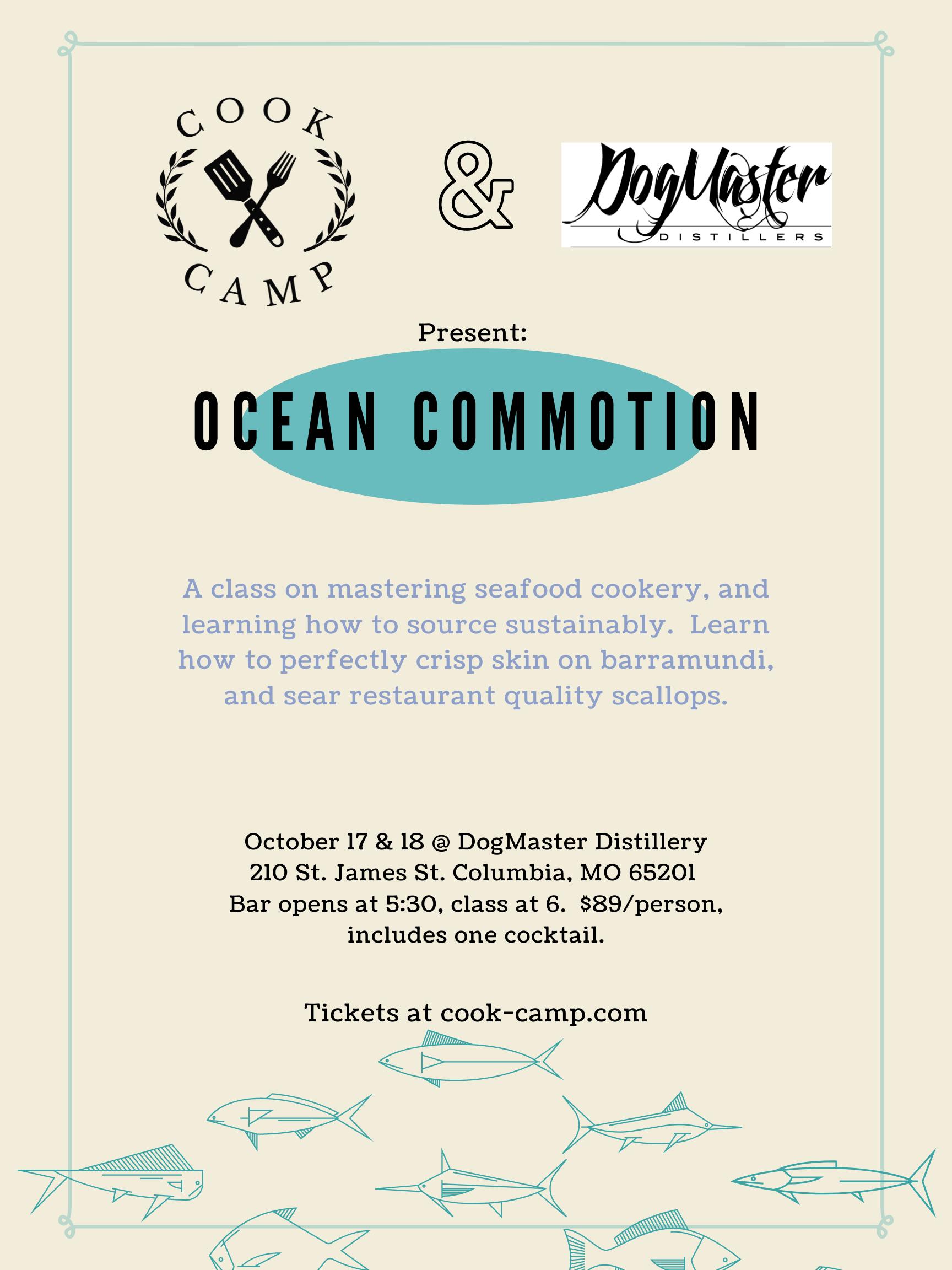 "Cooking Class | ""Ocean Commotion""-COMO"