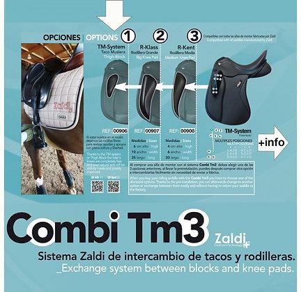 ZALDI Knee block Exchange - TM3 System - Taquets amovibles