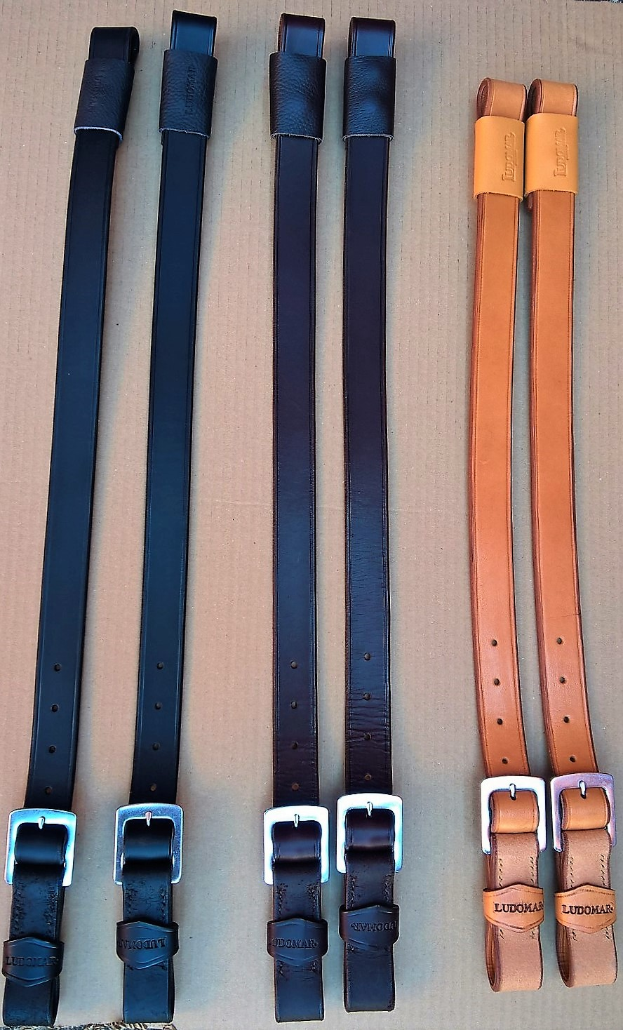 STIRRUP LEATHERS AND FENDERS