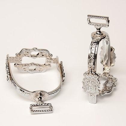 Baroque style silver