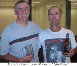 Billy and Alan Aug 2005