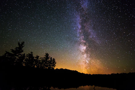The Milky Way from Algonquin Park