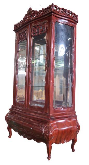 BCS-163 (100x50x220) Red Mahogany Semi.j