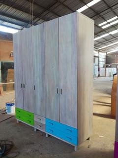 Boys Closet from Mahogany wood (200x60x2