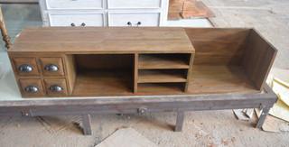 WLR-1421 (152x33x32) Smoke Oak With rust