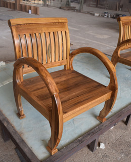 CRS-3122 1 seat Teak Wood(53x54x33.78)Te