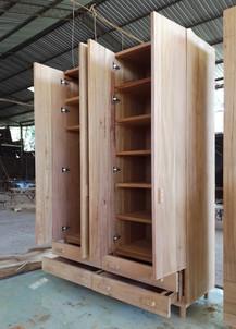 Halal Closet from Mahogany wood (161x60x