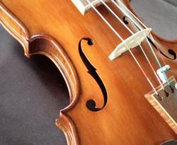 Violin #116 upclose