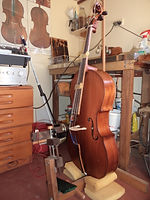 Cello in the making
