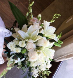 Bridal Bouquet Top view