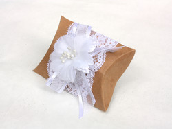 Wedding Favor Pillow- side