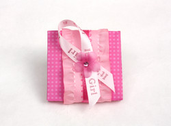 Baby Shower Favor Box- front