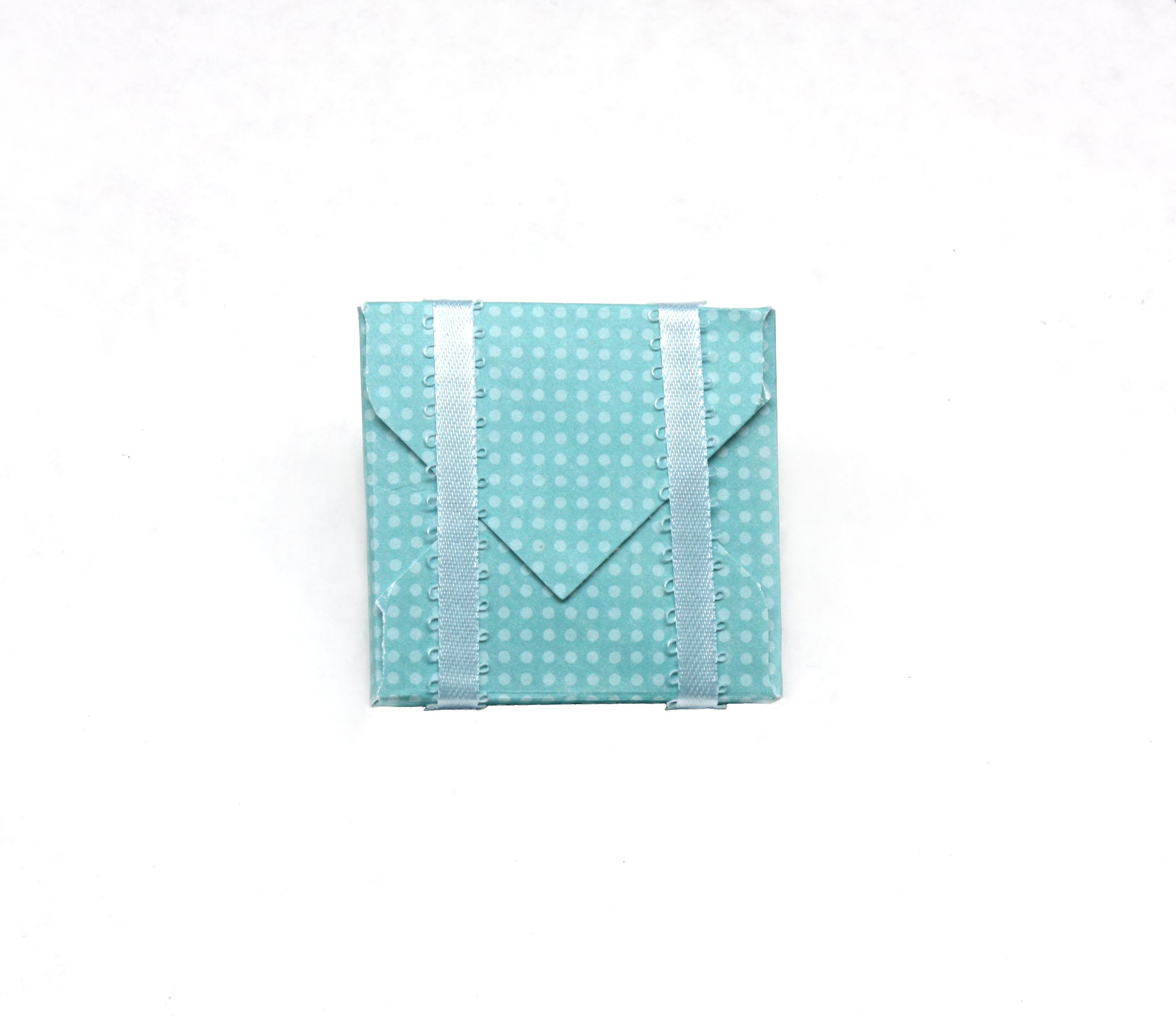Baby Shower Favor Box- back